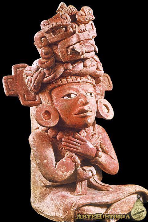 Diosa de las 13 serpientes. Cultura Zapoteca (Oaxaca, México) Autor: Fecha: 400-600 Museo: Museo Nacional de Antropología de México