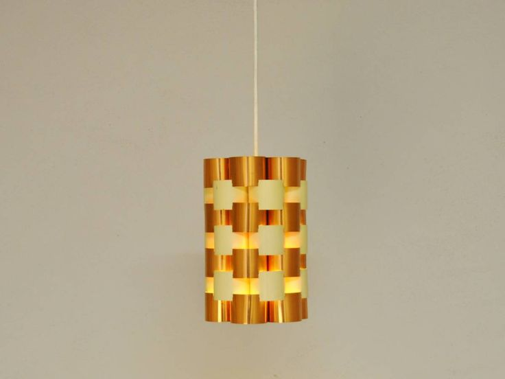 Beautiful hanging pendant by Werner Schou(?) - NOVAC Vintage