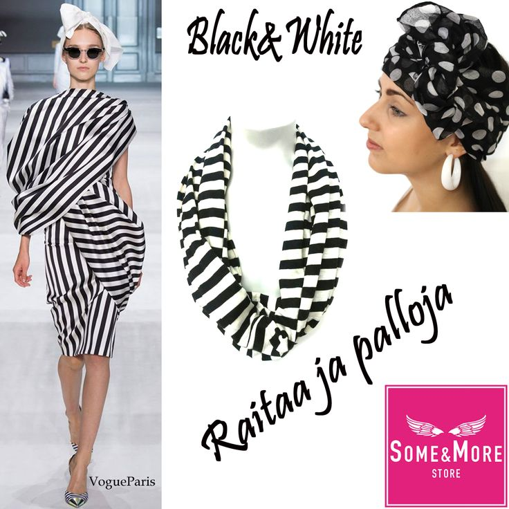 #blackandwhite #somemorestore #scarves #huivit www.somemore.fi