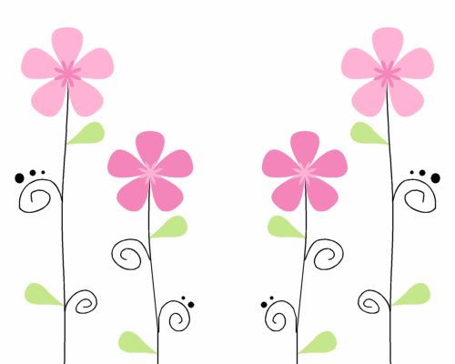 school theme border clipart   Flower Backgrounds - Flowers Background Images