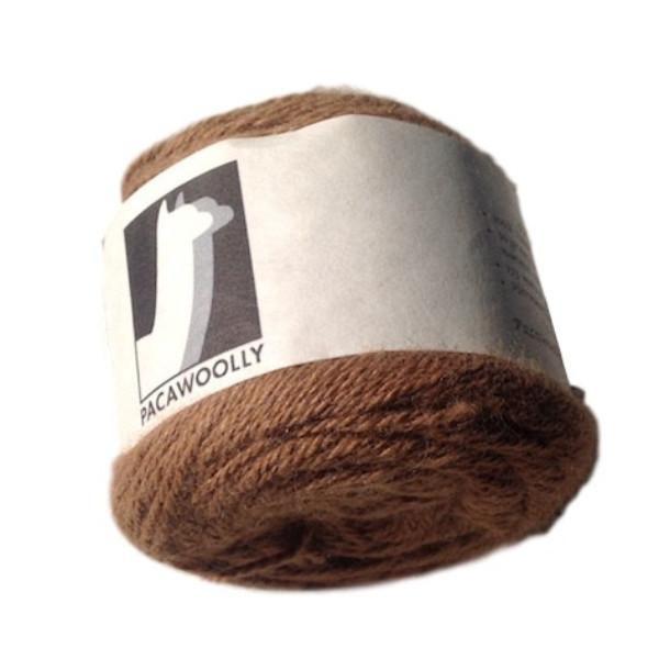 Pacawoolly Hermes, 100% Australian Alpaca, 4 ply, 50g, light brown - I Wool Knit