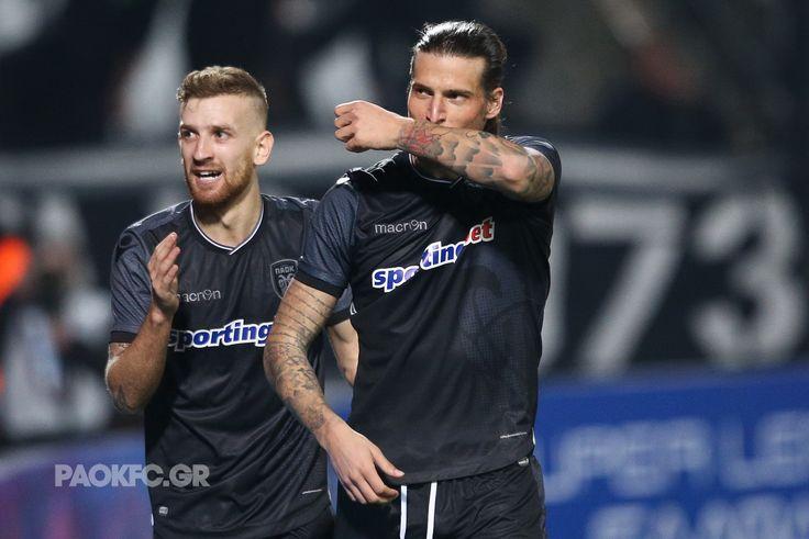 #Prijovic και #Henrique πέρασαν στο γήπεδο σαν αλλαγή και ήταν καθοριστικοί για την μεγάλη νίκη του ΠΑΟΚ #PAOKAST #SuperLeague