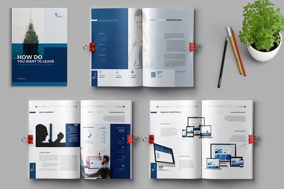 Brochure by Elite_Standard on @creativemarket