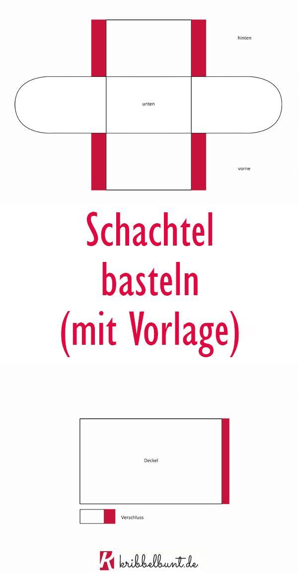 Schachtel Basteln Mit Kindern Mit Vorlage In 2020 Schachtel Basteln Schatztruhe Basteln Schatzkiste Basteln