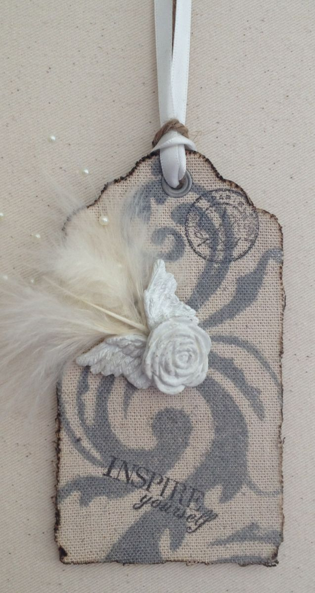 Canvas angel wings by di aime