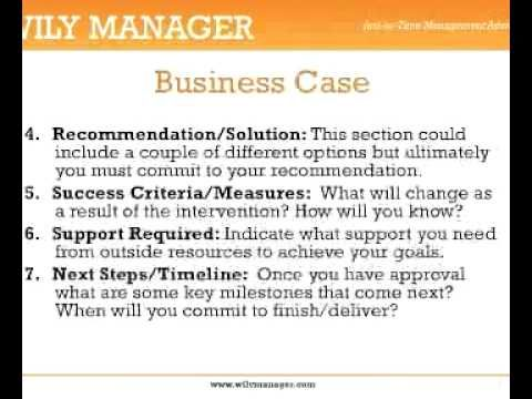 7 Steps to Writing a Business Case - A 3-Minute Crash Course - business case template word