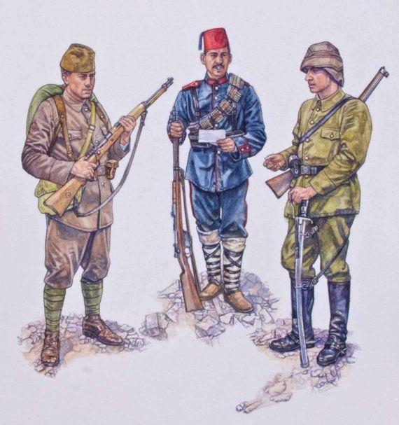 Armies of the Balkan Wars 1912-13 - Ottoman Army - Osprey Military Art