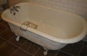 Cast Iron Claw Foot Bath Tubs From The 1920 S And 1930 S