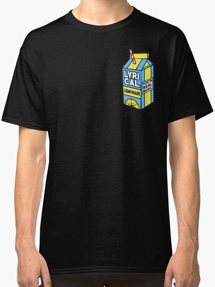Lyrical Lemonade Men's Black T Shirt Size S3XL fashion