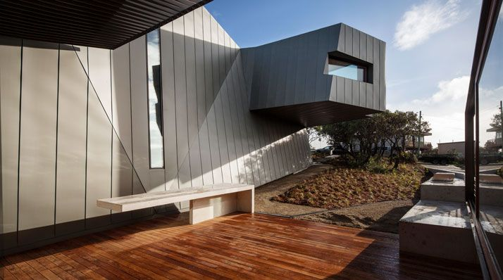 Cinematic Suspense Meets Domestic Calmness In Fairhaven Beach House By John  Wardle Architects
