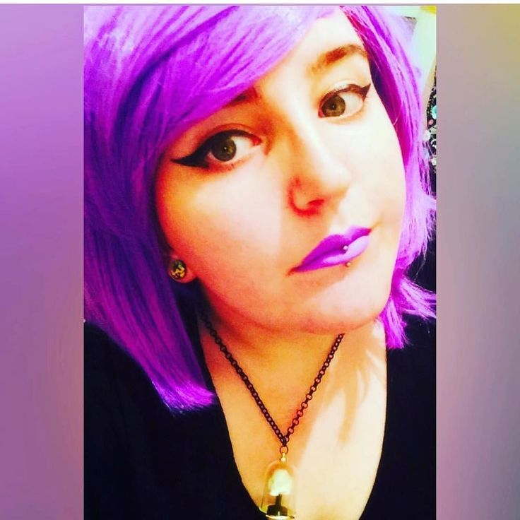 """@xstefidx Looking amazing in her Lush Wigs - Violet """"give away 1 wig"""" Gorgeous! More giveaways and compettions coming soon... #lushwigsgiveaway #lushwigs1wig #wig #violwtwig #bobwig #lushwigsviolet #gorgeous"""
