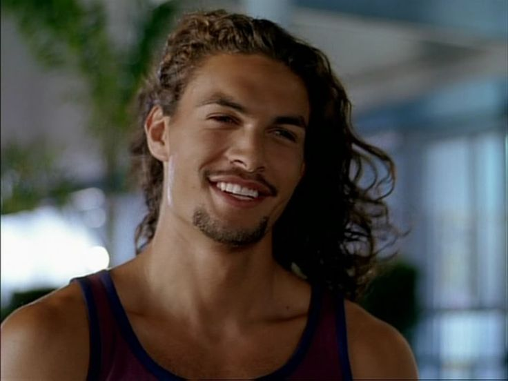 Jason Momoa. I like him with short hair, long hair, scruffy, clean-shaven, with clothes.....without clothes......