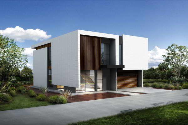 Small modern home designs  Cottage  Luxury interior green