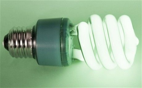 Energy saving bulbs emit cancer causing chemicals when switched on.  Sigh. Nothing is ever simple.