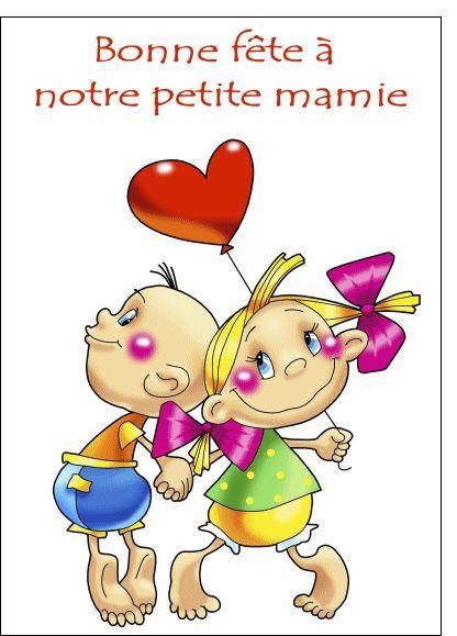 Carte Notre petite mamie pour envoyer par La Poste, sur Merci-Facteur ! le 2 mars 2014 souhaiter une bonne fête à votre grand-mère   #fêtedesgrandsmères