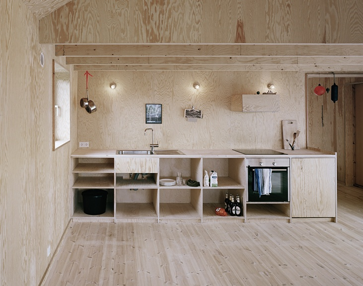 Plywood loveSmall House Design, Kitchens Interiors, Kitchens Design, Plywood Kitchens, Offices Design, Summer House, Interiors Design Kitchens, Open Kitchens, Johannes Norland