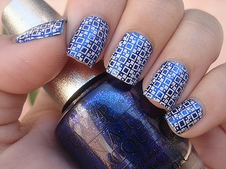 Charming decoration of nails (49) by summerdresses2012, via Flickr
