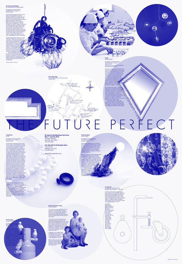 The Future Perfect Poster by Studio Lin http://www.studiolin.org/