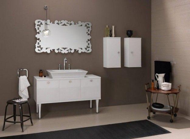... bagno - Come arredare il bagno in stile vintage con i mobili antichi