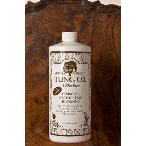 Preserve Pure Tung Oil; 32 oz. Bottle