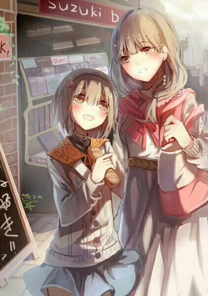 Ryouka and Hinami <3