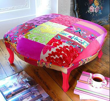 Larger image of Pushkar Footstool