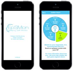 SUDEP Action releases EpSMon app to help #epilepsy patients self-monitor in between visits to doctor. EpSMon is designed so that you can be aware of why and when a medical review of your epilepsy is important.