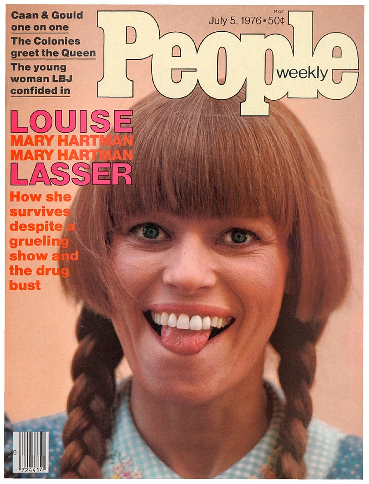 People magazine, July 5, 1976 — Louise Lasser in Mary Hartman, Mary Hartman
