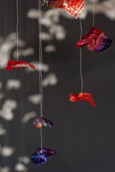 Opium, projet de diplôme de Juliette de Coquereaumont (Design Textile)