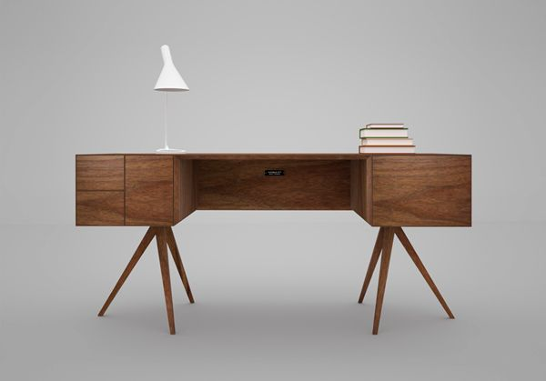 Incunabular Desk, 2012  Simon Moorhouse  www.invisiblecity.co.uk  via yankodesign.com    for #form