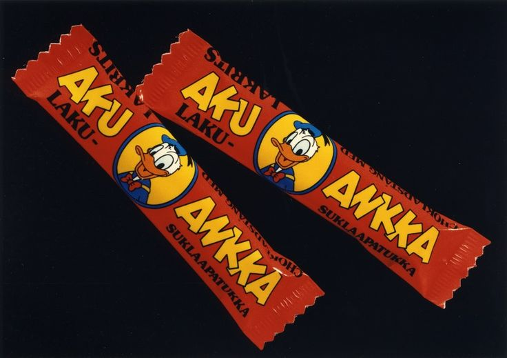 Aku Ankka Laku-suklaapatukka #AkuAnkka #makeiset, #suklaa