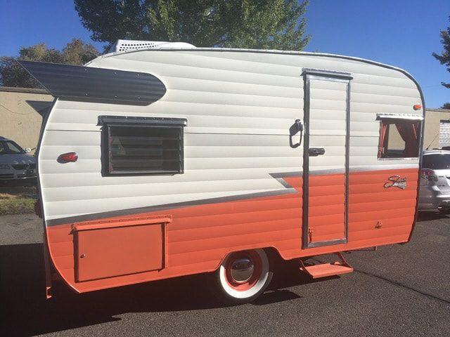 Vintage Camper Trailers For Sale 1960 Shasta Airflyte 15 Ft Inc Tongue Clean Title Frame U Camper Trailer For Sale Vintage Camper Vintage Campers Trailers