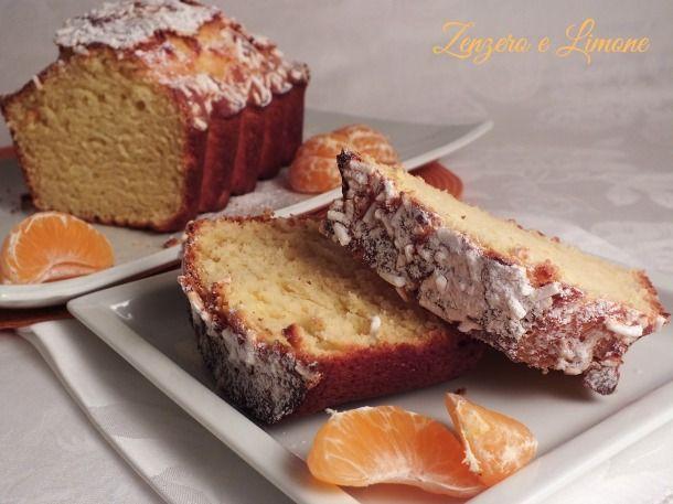Plumcake alla ricotta e mandarino