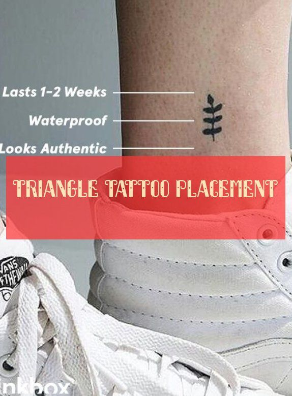 triangle tattoo placement dreieck tattoo platzierung triangle tattoo #Tätowierung
