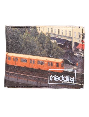 36 Subway Wallet [chocolate] // #iriedaily // www.iriedaily.de