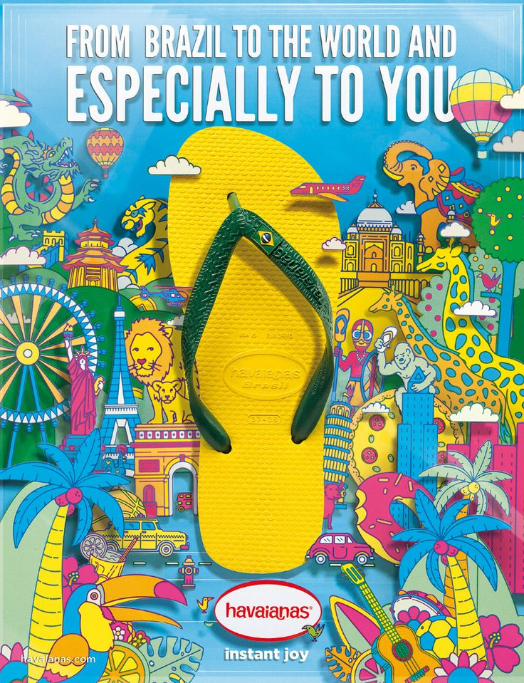 Image result for havaiana flip flops ads