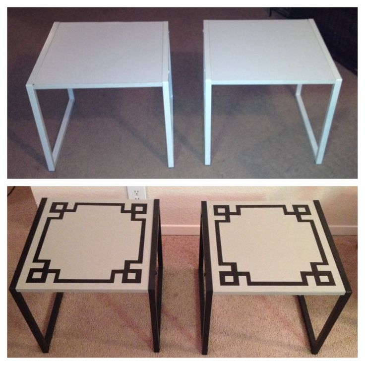 70 best End Table Redo images on Pinterest Painted furniture