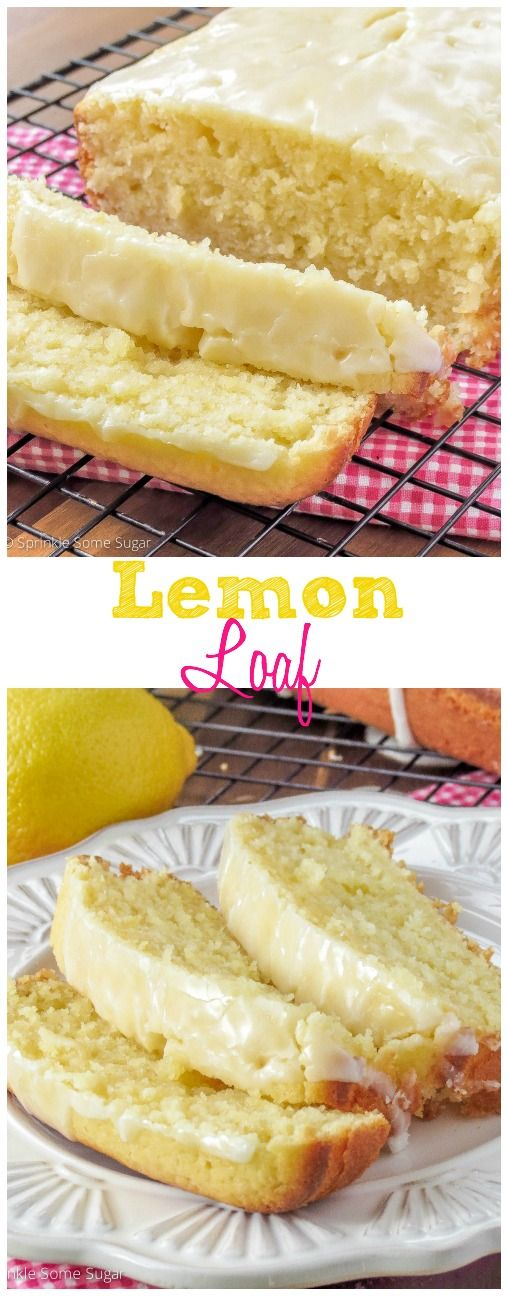 Lemon Loaf. This super moist bread is loaded with extreme lemon flavor. Perfect for the lemon lovers in your life!