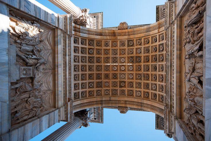 Photograph Arco della Pace weare500px Milan by Ignazio Marassi on 500px