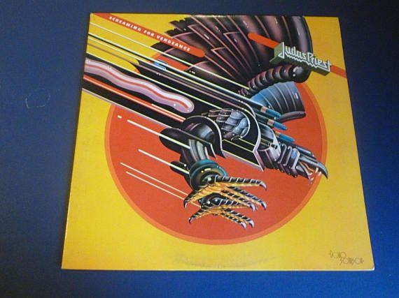 Judas Priest Screaming For Vengeance Vinyl Record LP FC 38160