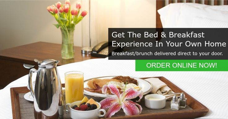 Get the Bed & Breakfast experience in your own home.  Enjoy a delicious breakfast/brunch cooked for you and delivered direct to your door!  ORDER ONLINE NOW!    #pettswood #orpington #bromley #sidcup #chislehurst #breakfastdelivery #bread&butterpettswood