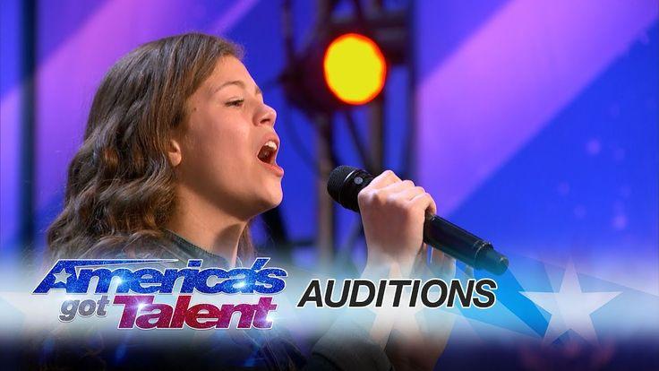 Angelina Green: 13-Year-Old Singer Earns Golden Buzzer From Heidi Klum -...
