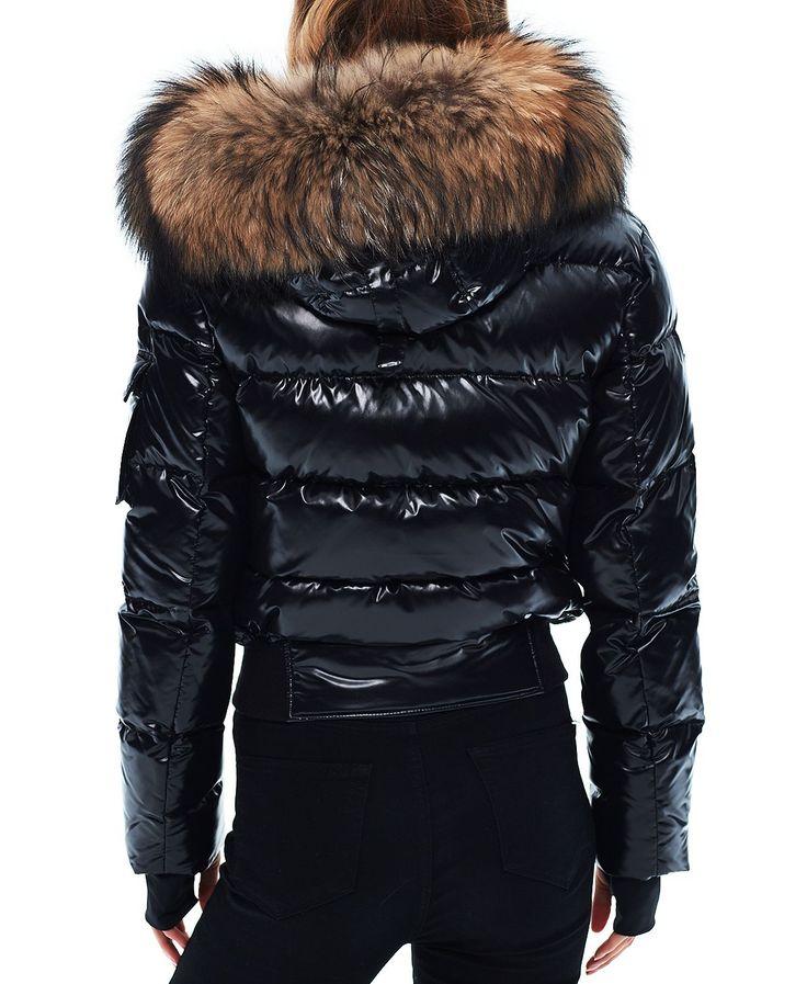 SAM. Skyler Fur Trim Short Down Coat | Bloomingdales's