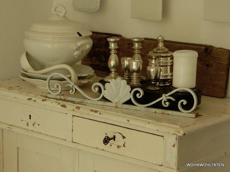 Vintage Deko - Alter Blumenkastenhalter - ein Designerstück von Wohnwohltaten bei DaWanda