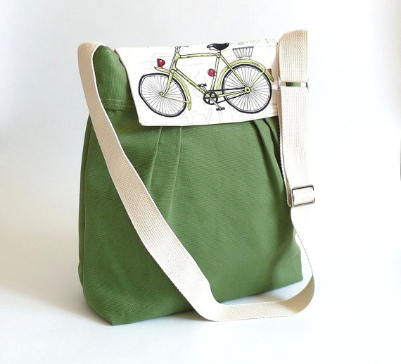 me likey: Bicycles Bags, Crafts Ideas, Cute Pur, Travel Bags, Diapers Bags, Messenger Bags, So Sweet, Canvas Messenger, Bike Bags