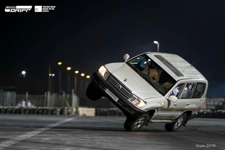 Racing Doha Qatar Toyota Landcruiser Fourwheel