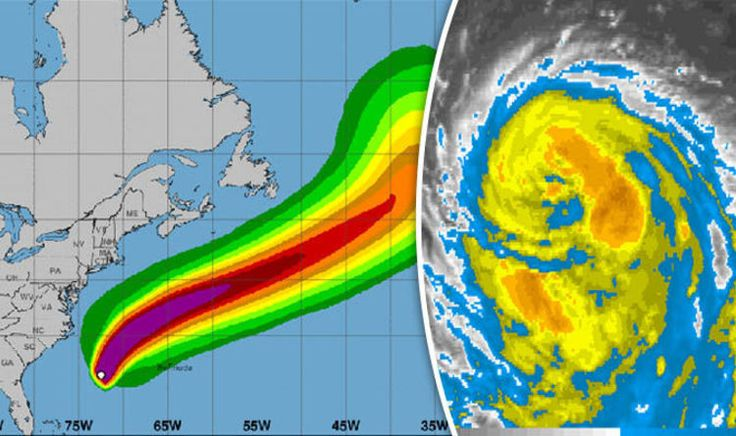HURRICANE Gert has forecasters on high alert as it continues to gain strength off the east coast of the US. Here are the latest tracking updates, storm maps and NOAA updates.