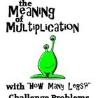 Miss Challenge's Meaning of Multiplication Challenge! This series of challenge problems exploring the meaning of multiplication stretch the brains ...
