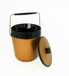 Image result for pfaltzgraff brown drip ice bucket