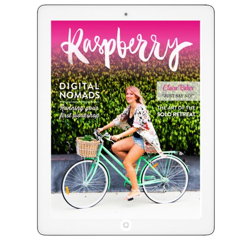 TRY US FREE — Issue One of Raspberry Magazine is totally free to download! :)